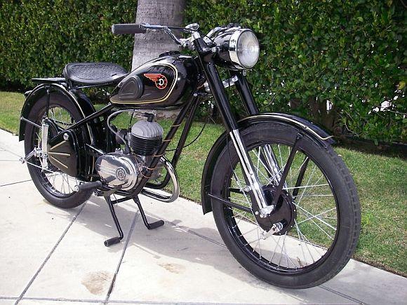 1957 Csepel, Danuvia 125