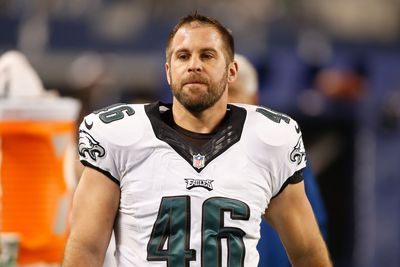 Eagles long snapper takes blame for missed field goal by Caleb Sturgis