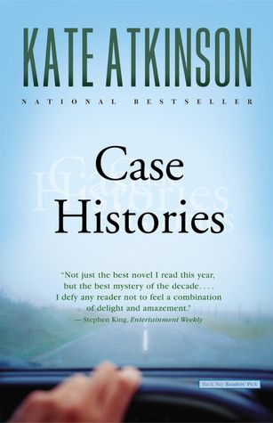 Case Histories by Kate Atkinson. Will be a great read if only because I can picture/hear Jason Isaacs as Jackson Brodie!