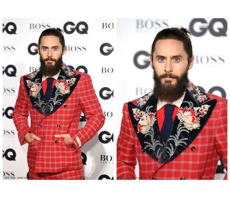 Jared leto at GQ men of the year awards, in london, september 5, 2017