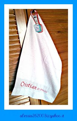 Elena Ricami di Silvia Ottolini: Asciugamano Bambino/a