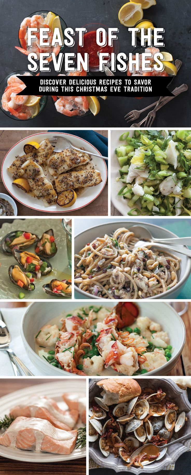 1000 ideas about christmas eve dinner menu on pinterest for Christmas eve fish dinner