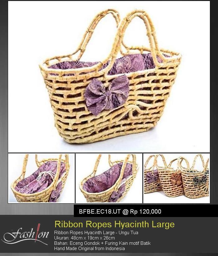 Ribbon Ropes Hyacinth Large Purple