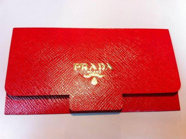 Prada Red Pocket Cny Pocket Pinterest Red Envelope