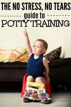 Thinking about starting potty training? Read this No Stress, No Tears Guide to Potty Training before you get started and it won't be the dreaded experience you're told potty training is! #pottytraining #pottytrainingboys #pottytrainingtips #toddlertips #parentingadvice