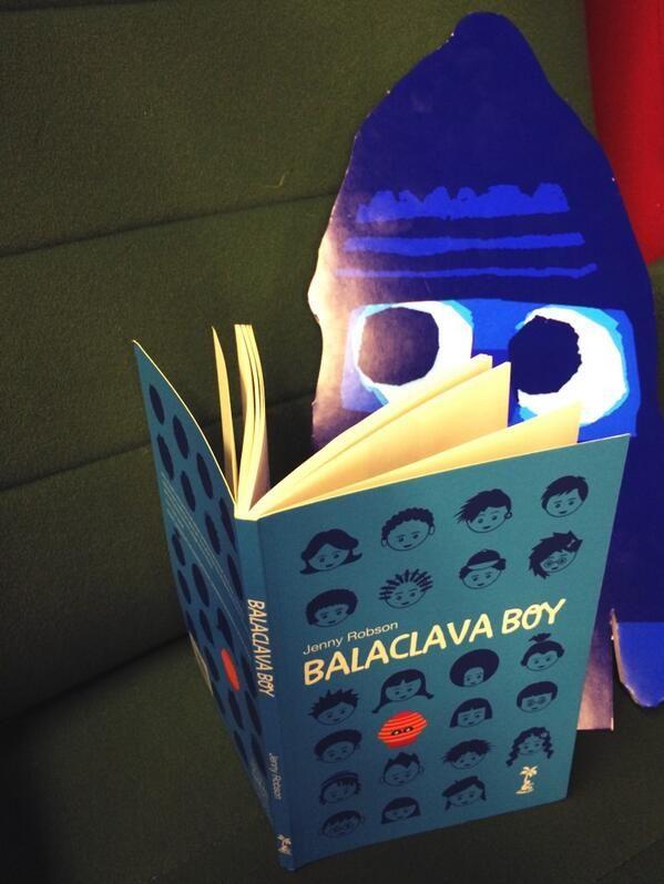 Balaclava Boy at the 2014 CBI Conference