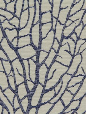 Tree Branch Fabric Tree Branch Cobalt Robert Allen