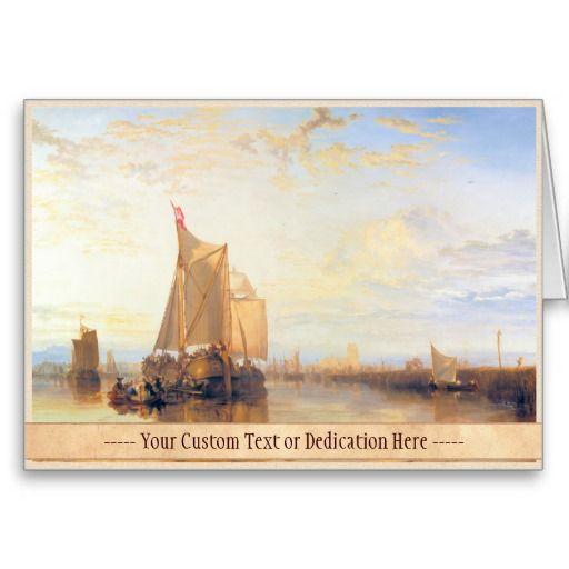 Dort or Dordrecht  The Dort Packet Boat Rotterdam Greeting Card