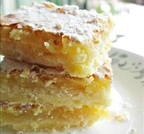 """Lemon Bars: """"I found these bars to be absolutely fantastic! They are better than your favorite bakery. I got rave reviews from everyone!"""" -BakingGuru"""