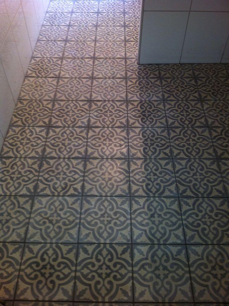 Nylagt golv #bathroom #interior #marrakech