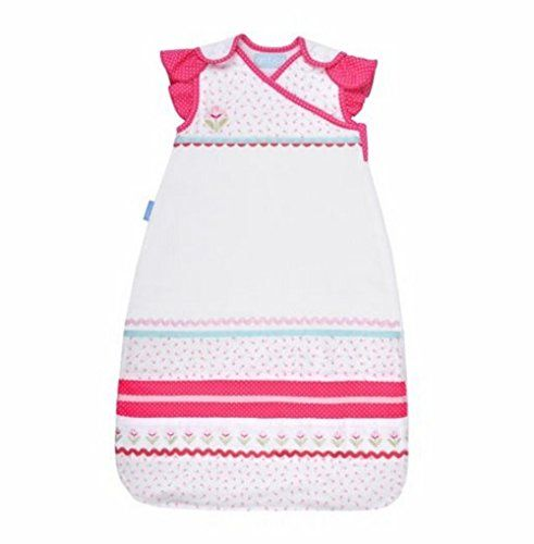 The Gro Company 2.5 TOG Grobag Baby Sleep Bag – Newborn Girl  The Gro Company 2.5 TOG Grobag Baby Sleep Bag - Newborn Girl  So adorable and smart, you'll both be sweet on this supercute girls' Grobag baby sleep bag by the Gro Company. In white/multi.  Product Features:    Zip-click safety cover  Underarm snaps  Flutter sleeves  What's Included: Sleep bag  Nursery thermometer  User guide  Safe sleep information  Product Details: Fits newborns from birth to 6 months  Machine wash  ht..