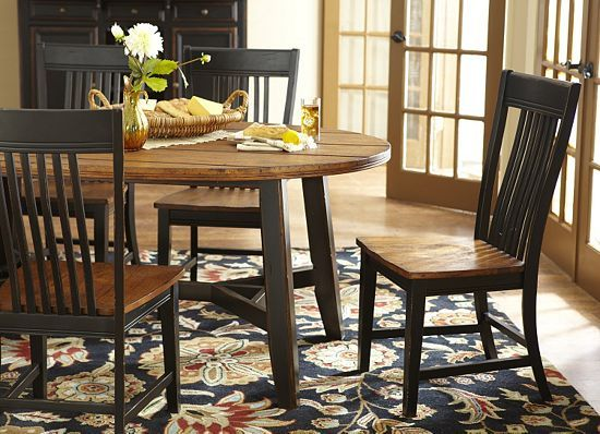 Dining rooms laurel creek leg table dining rooms for Dining room tables havertys