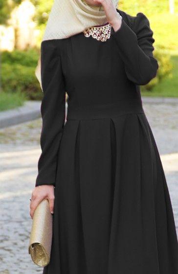 Prenses Elbise - Siyah