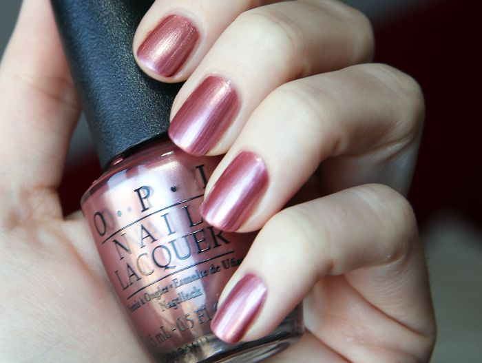 Opi - chicago champagne toast $5