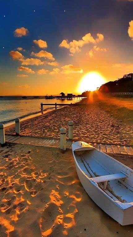 Atardecer genial en la playa | Cool sunset at the beach - #verano #summer
