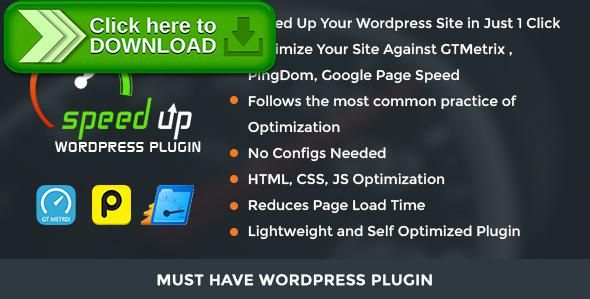 [ThemeForest]Free nulled download Speed Up WordPress Plugin from http://zippyfile.download/f.php?id=54515 Tags: ecommerce, fast, google speed test, gtmetrix, optimizer, page load, performance, pingdom, Speedup wordpress plugin, website speedup plugin, Wordpress Optimize, wordpress seo, Wordpress Site Optimization