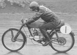 1958年第1回クラブマンレース写真集ー1 ダンデイ50ccで挑戦した15才の生沢徹