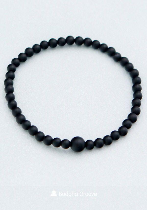Black Onyx Protection Bracelets Protection Bracelet Energy Bracelets Onyx Bead