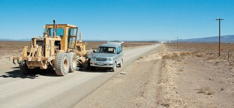 Route R355 in the Tankwa Karoo between Calvinia an Ceres - 257 km dirt road