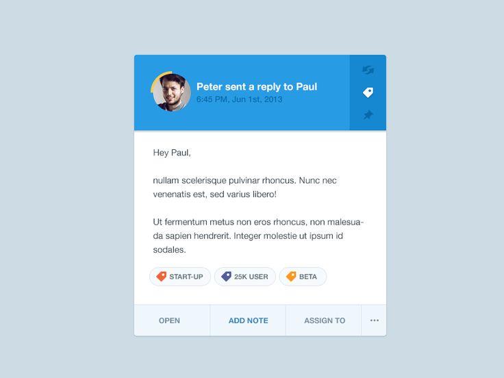 Widget by Frantisek Kusovsky, #ui #ux #design #mobile #app