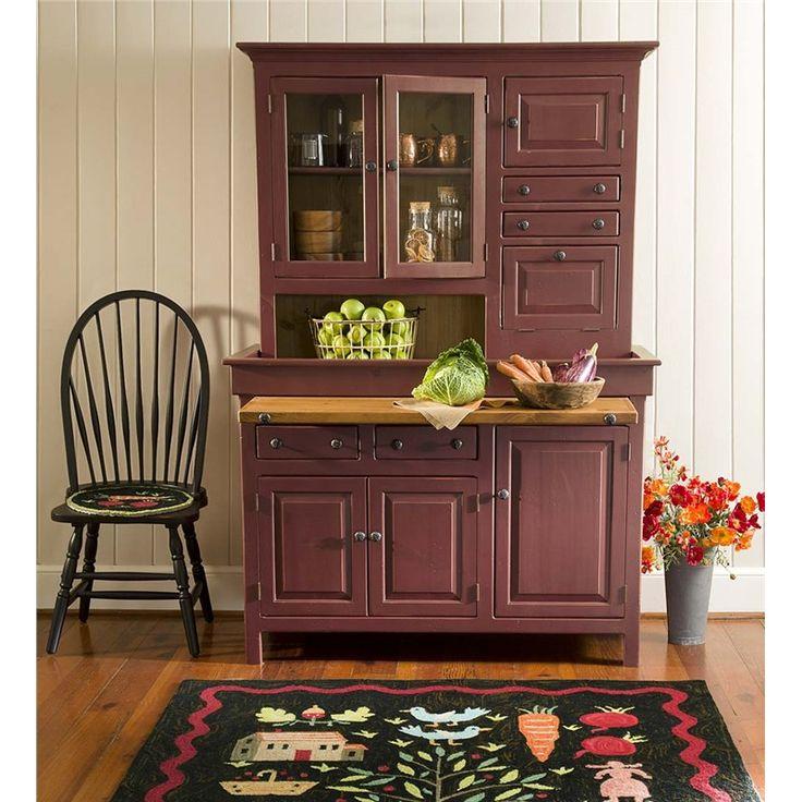 Large Painted Finish Conestoga Cupboard | Kitchen Furniture