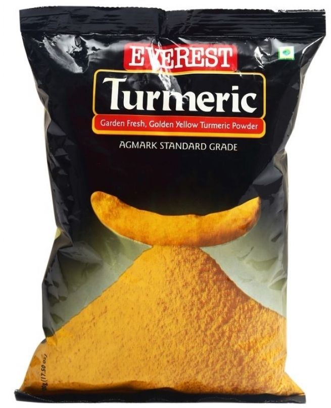 Everest Turmeric Root Haldi Powder Organic Yellow Spice Curcuma longa Sealed #Everest