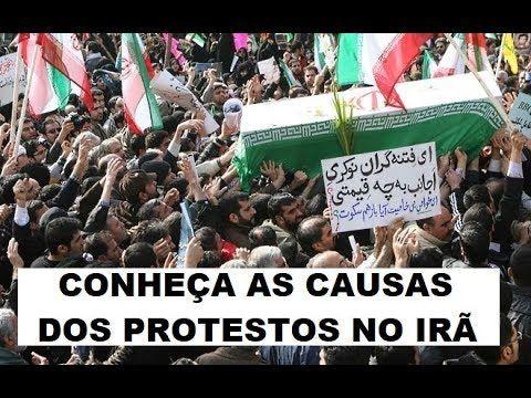 O QUE ESTÁ DIRIGINDO OS PROTESTOS NO IRÃ?