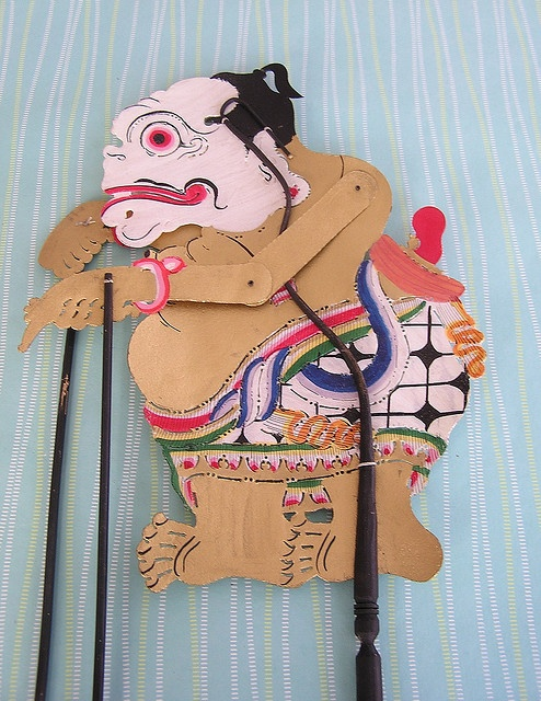 Bagong- Traditional Indonesian Shadow Puppet