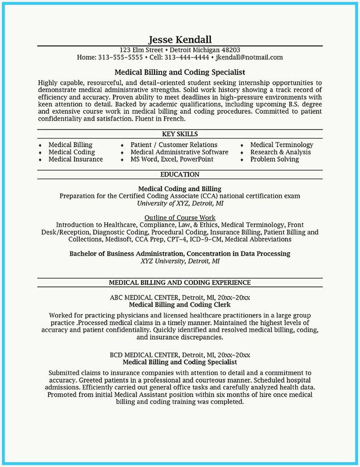 47 best of medical billing job description for resume
