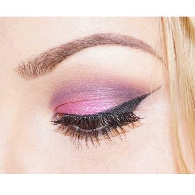 Smokey Purple Pink look