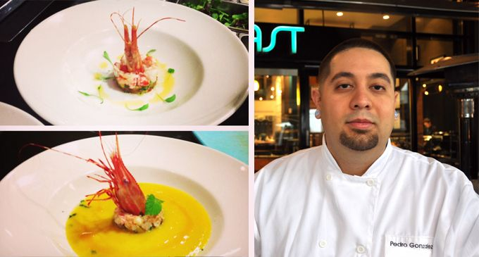 A big congratulations to COAST's Executive Chef Pedro Gonzalez for WINNING the Mission Hill and Ocean Wise B.C. Spot Prawn and Wine Pairing Contest 2013!