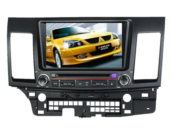 Android 6.0 16GB ROM quad core PX3 android car dvd fit for mitsubishi lancer 2006- 2012 bluetooth radio gps wifi dvr map 3G