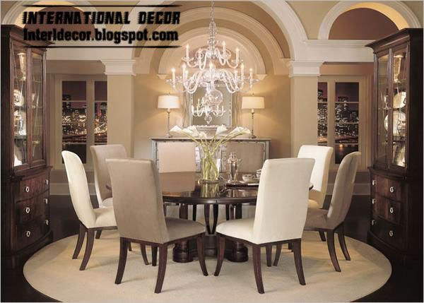 Modern Round Dining Table With 2 Chairs Colors, Spanish Dining Room  Furniture · Runde EsstischeEsszimmermöbelMöbeldesignEsszimmerSpanischRustikal  ...
