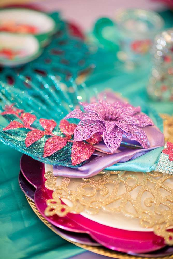 Little Mermaid Birthday Party Ideas | Photo 1 of 44 | Catch My Party