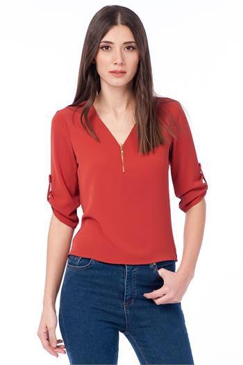 KİREMİT BLUZ www.fashionturca.com