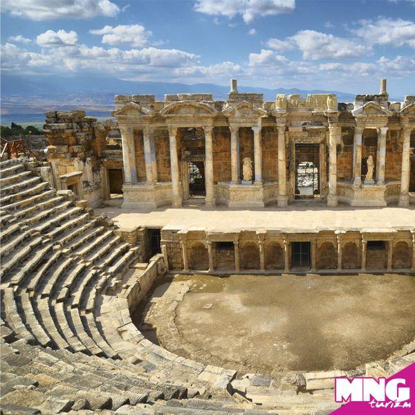 Hierapolis Antik Kenti, Pamukkale-Denizli (İonya Turları) #mngturizm #tatiliste #kültürturları #ege #pamukkale #denizli #travel
