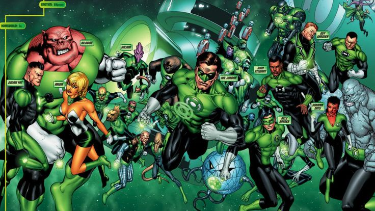 SDCC 2015: Green Lantern Corps Film Announced - Comic Vine