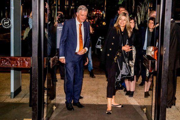 Dutch Queen Maxima arrived Lagos City in Nigeria