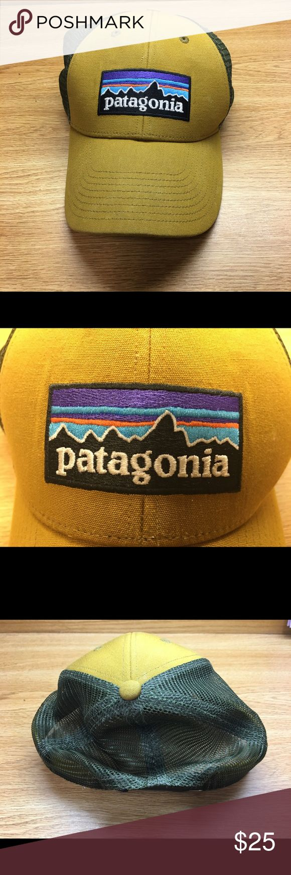 Patagonia Snapback LoPro Tan, Green, one size fits all Patagonia Accessories Hats