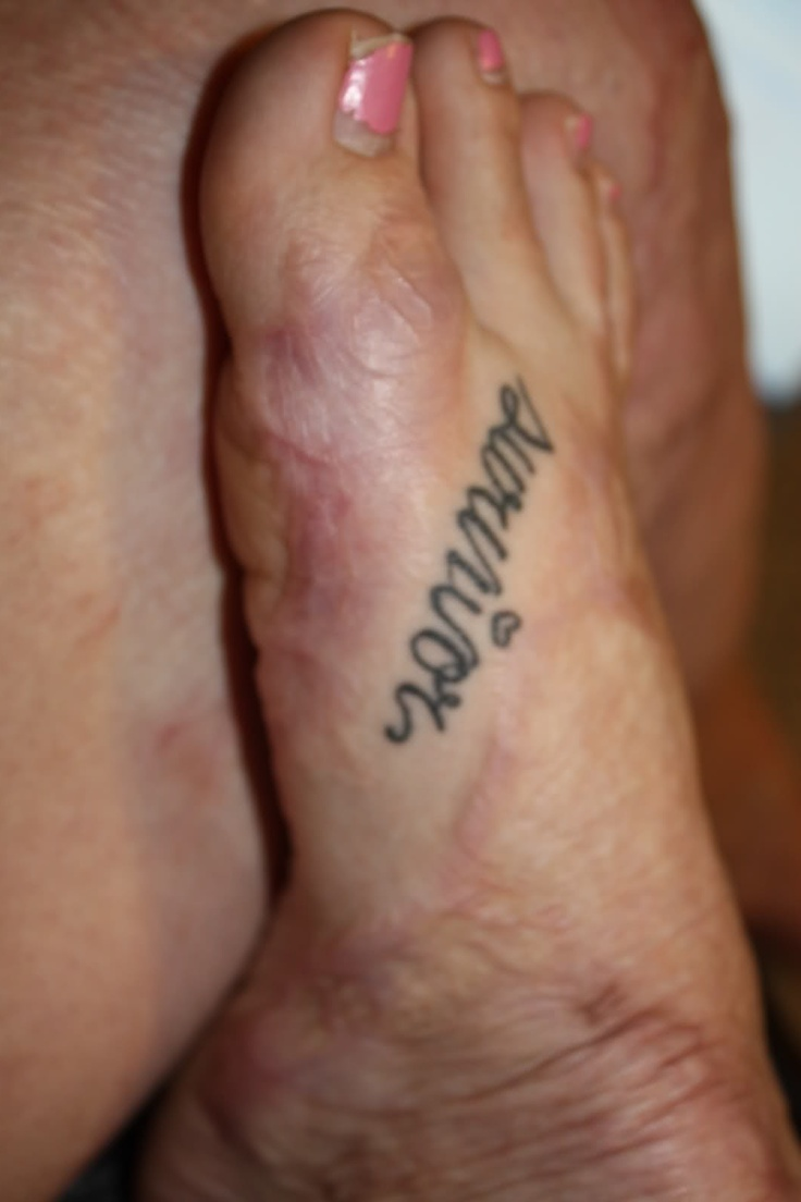 foot quote tattoos - Google Search