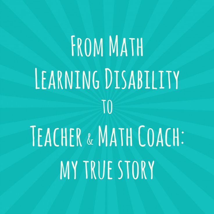 I was diagnosed with dyscalculia, a learning disability in math and absolutely HATED the subject. This is the story of how I learned to love teaching math and helping other teachers love teaching math, too.