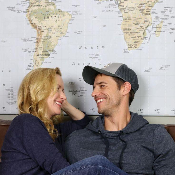 Angela Kinsey and husband Josh Snyder