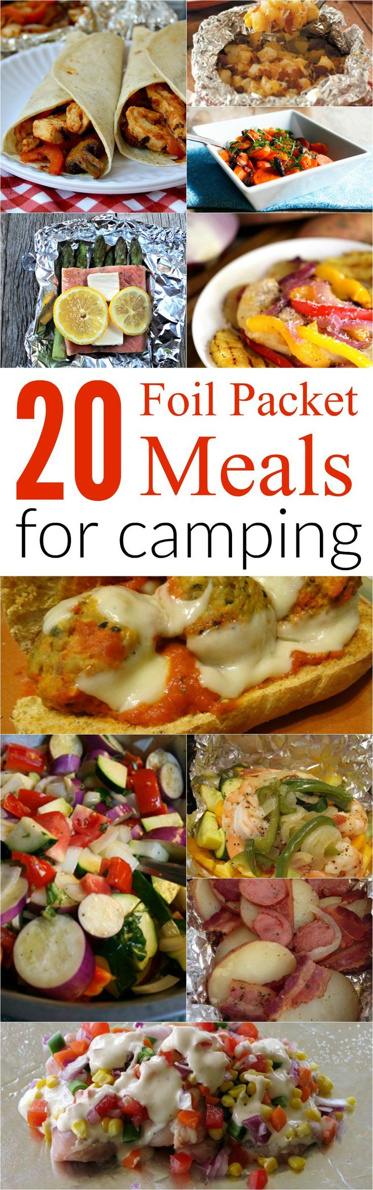 Top 20 Foil Meal Packet Recipes For Camping Great On The Go Ideas To Throw Grill