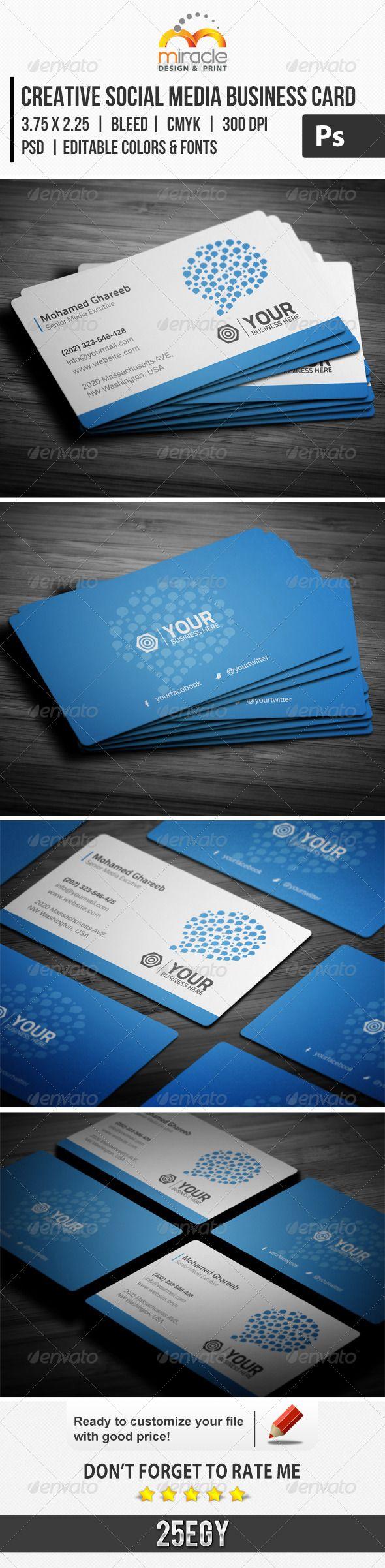 86 Best Business Card Images On Pinterest Graphics Graph Design
