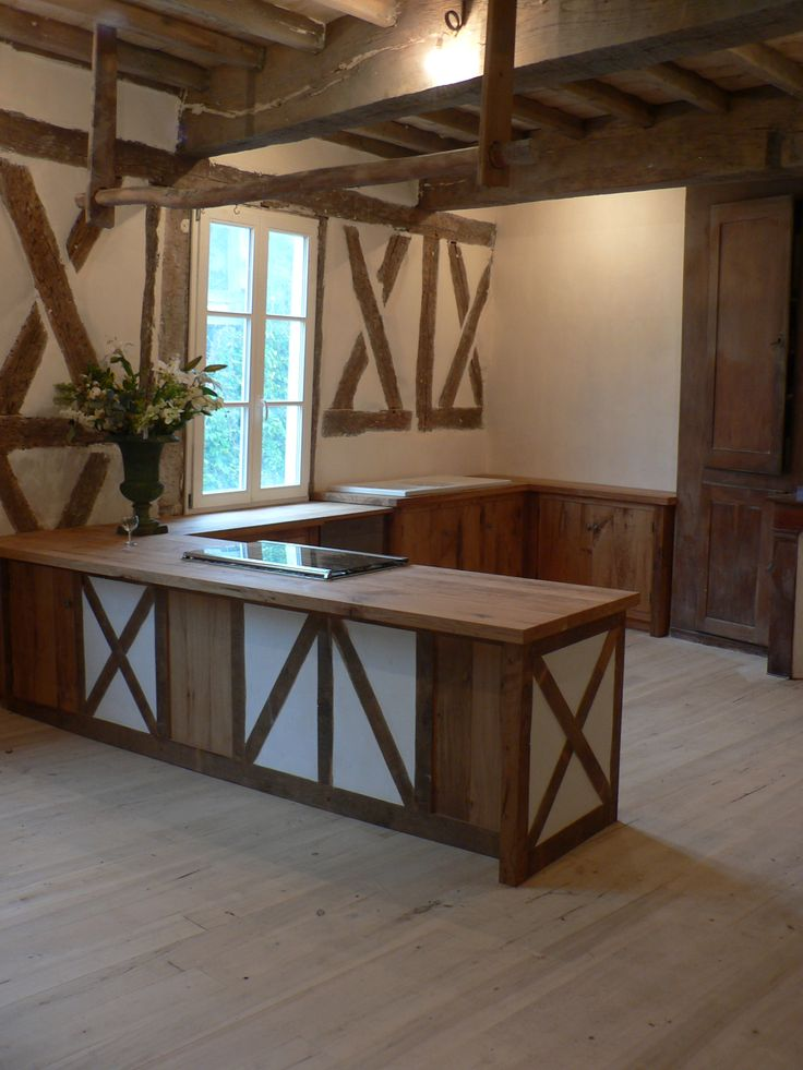 French oak kitchen