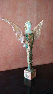 Πηγές του κόσμου art & craft: 1ο Σεμινάριο: POWERTEX - Τίτλος: Άγγελος, Επιτραπέ...