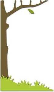 Silhouette Design Store - View Design #16773: grass - tree border