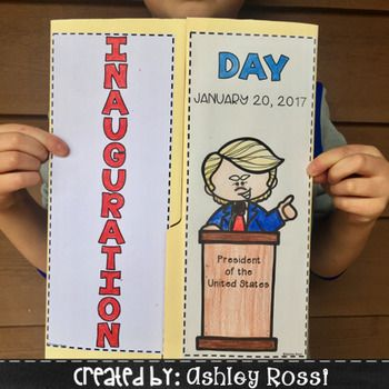 Teaching about this historic event has never been easier or more interactive with this Lap Book + Writing prompt activities! Empower your students with knowledge of factual vocabulary, the president's roles and job duties, the oath of office and more.*This resource focuses more on the factual events of Inauguration Day and the President rather than on President Elect Donald Trump*CONTENTS:File Folder Lap Book:36 Inauguration vocabulary words Flip Book(option to fill in own words or use…