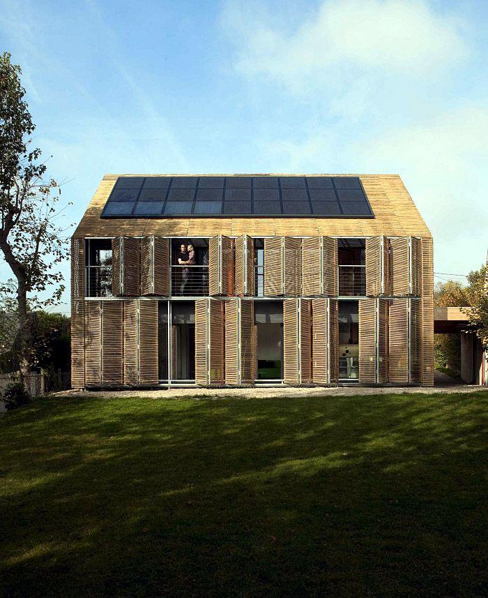 Karawitz Architecture's Modern French Passivhaus  http://www.karawitz.com/