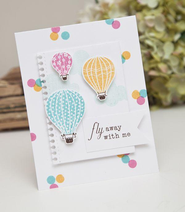Открытки с шарами воздушными сделать самим, пасхальные винтаж